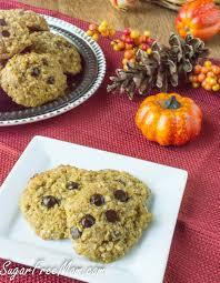 Sugar Free Pumpkin N U0027oatmeal Cookies Grain Free Low Carb