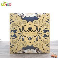 Craft Invitation Card Online Buy Wholesale Metallic Card Craft From China Metallic Card