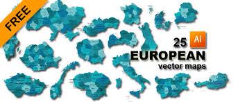 vector maps free 25 european vector maps graphic flash sources