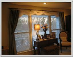 window treatment ideas for living room bay small kitchen dining