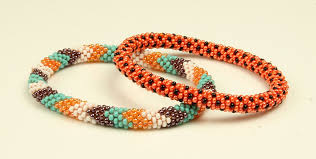 glass beads bracelet images Directly sold by makers nepali roll on beaded glass seed bead jpg