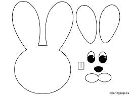easter bunny paper craft easter crafts pinterest easter