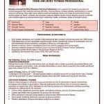 personal trainer resume template unforgettable personal trainer