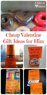 cheap valentine gift ideas for him child at heart blog