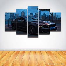 shop online for home decor printed car poster modern canvas painting for home decor living