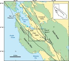 Santa Clara Map Paleomagnetic Record Determined In Cores From Deep Research Wells