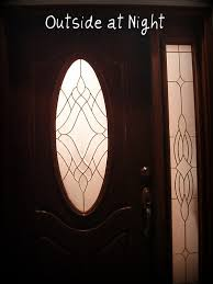 diy frosted glass a solution for my front door save my