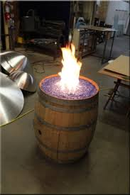 How To Make A Gas Fire Pit by Convert A Wine Barrel Into A Safe Outdoor Firepit