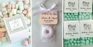mint wedding favors mint to be wedding favors wedding ideas photos gallery