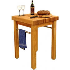 Kitchen Cutting Block Table by French Country 24