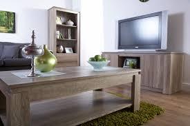 Canyon Dark Oak Living Room Furniture Storage Table TV Unit - Oak living room sets