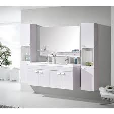Salle De Bain Luxe Design by Meuble Salle De Bain Blanc Rose Clair Vasque Luxe Lavabo Mod W