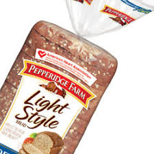 pepperidge farm light bread stepping with smiles enjoying the good things in life and still