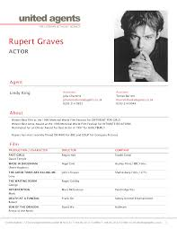 Actor Resume With No Experience Headshot Resume Resume For Your Job Application