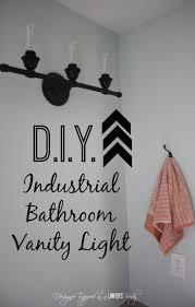 Best  Industrial Bathroom Lighting Ideas On Pinterest - Brilliant bathroom vanity light with outlet residence
