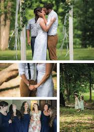 casual wedding casual navy outdoor wedding anthony elise the pink