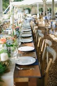 table and chair rentals okc best 25 farm table wedding ideas on wedding table