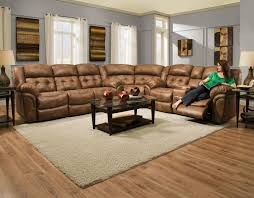 Sectional With Recliner Homestretch Enterprise Casual Power Reclining Sofa With In Home