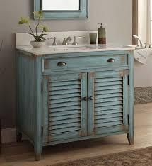 Bathroom Vanity With Offset Sink How To Distress White Bathroom Cabinets Memsaheb Distressed Vanity