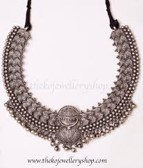 silver necklace images The vibhusana hand crafted silver necklace ko jewellery jpg