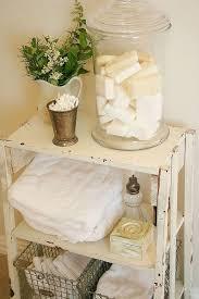 White Bathroom Shelves - 26 adorable shabby chic bathroom décor ideas shelterness