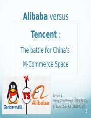 alibaba tencent gbmt302 alibaba versus tencent the battle for chinas m commerce