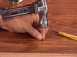Repair Wood Laminate Flooring How To Fix Squeaky Floors How Tos Diy