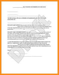 6 eviction notice sample parts of resume