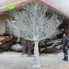 wtr1103 gnw 3m white plastic trees with fiberglass trunk