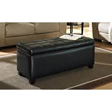 furniture large round leather ottoman coffee table crate and