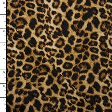 leopard fabric cali fabrics leopard print double brushed poly spandex knit print