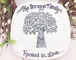 tree plates etsy