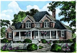 brick house plans photos