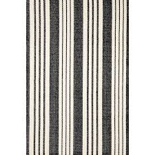 Dash And Albert Outdoor Rugs by Birmingham Black Indoor Outdoor Rug Dash U0026 Albert