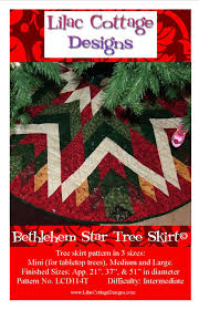 bethlehem star tree skirt lilac cottage designs