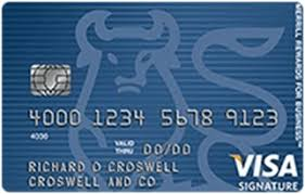 Merrill Business Cards Merrill Rewards For Business Visa Signature Card Wallaby Financial