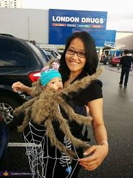 Spider Halloween Costume Baby Spider Mom Costume Ergo Carrier Costumes
