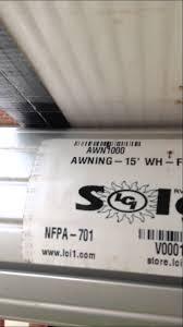 Solera Rv Awnings Solera 15ft Electric Awning Youtube