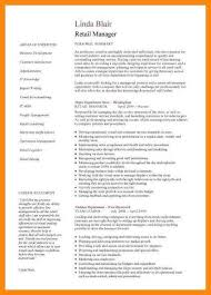 retail manager resume template retail manager cv paso evolist co