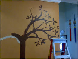 tree wall painting bunk beds for adults bedroom ideas teens over