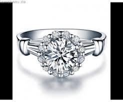 verlobungsring billig kaufen damen moissanite ring 950 platin verlobungsring ringe