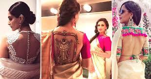 saree blouse styles 9 blouse designs that are smokin and trending af