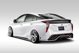 toyota 2016 2016 toyota prius getting hellaflush body kit from kuhl racing