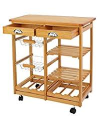 wheeled kitchen island kitchen islands carts amazon com