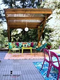 Best Outdoor Rug For Deck 5 Ways To Add Color To Your Outdoor Space U2014 Room To Design