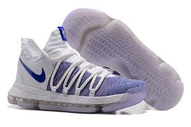 2017 nike kd 10 white blue for sale cheap kd 10 sale