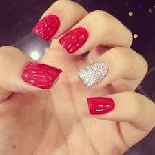 uas de gelish decoradas baseball colors nails pinterest uñas rojas uñas gelish y uña