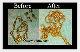 how to clean gold jewellery at home simple hacks tnbntv