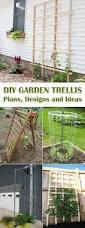 diy chevron lattice trellis tutorial fur gardens and yards
