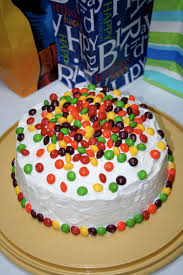 skittles birthday cake madindy